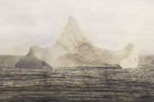 Freemason Tragedy: Photograph purporting to be of the iceberg that sank the Titanic