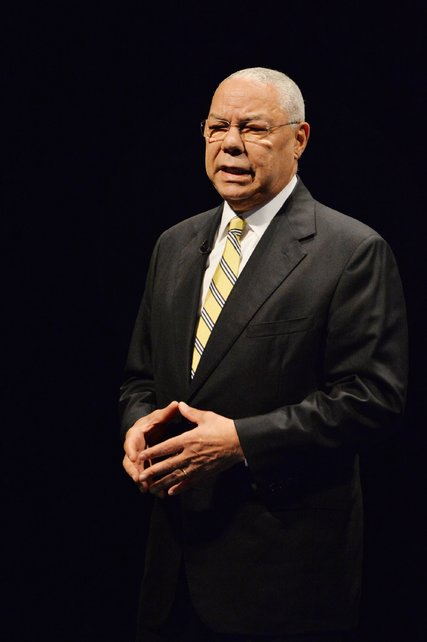 Colin Powell Masonic Handsign
