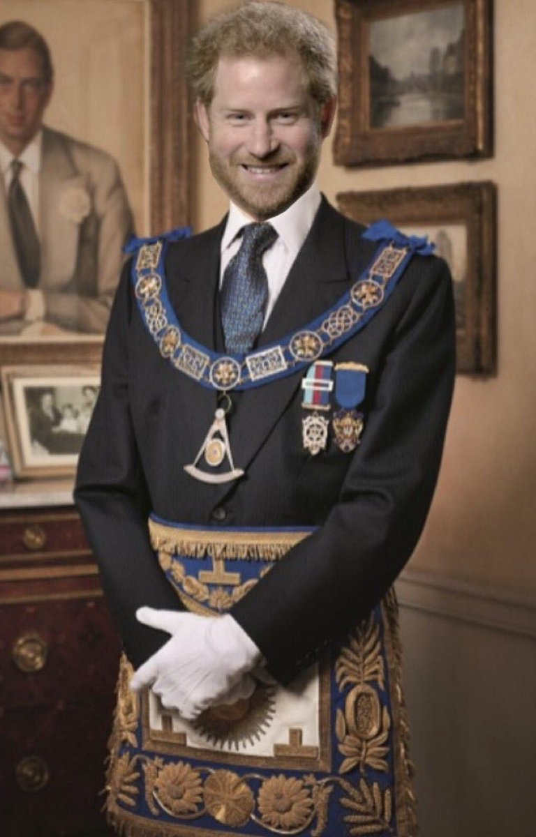 Prince Harry Freemasonry