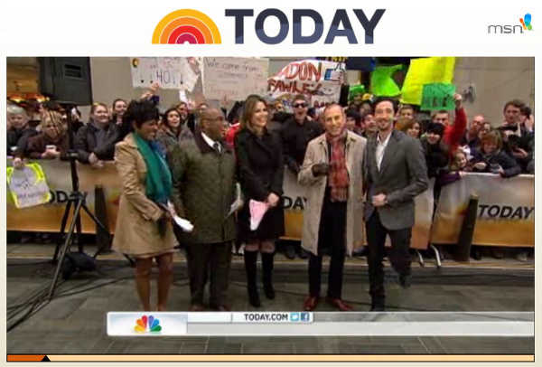 VIDEO: NBC Today Show – Bro. Adrien Brody on new film, Gillette commercial, Oscar winning, and Freemason Secret Handsignals