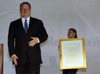 The Global Warming Computer: Demolay Bro. Clinton & Freemason Al Gore Interviewed by Freemason Charlie Rose…