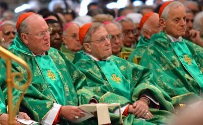 Cardinal Wuerl, Cardinal Kasper, Cardinal Dolan, Catholic Church