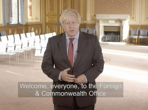 Boris Johnson Masonic