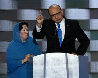 democratic convention .muslim parents