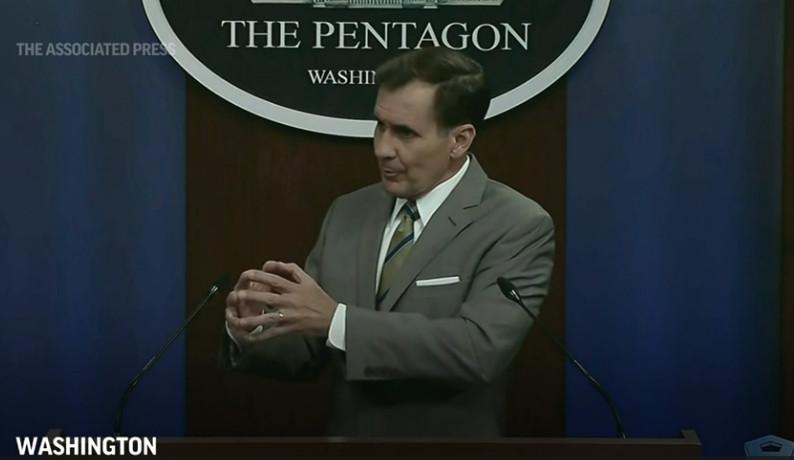 Pentagon, Admiral Kirby, Freemasonry