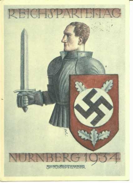 Nazi Knight Poster