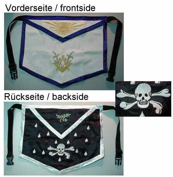 Two Sided Masonic Apron
