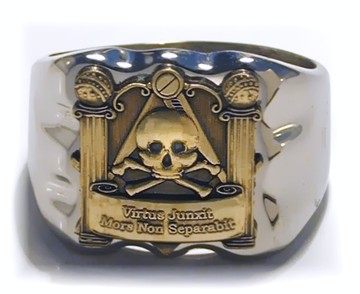 33rd Degree Ring, Freemasons, Freemasonry, Freemason, Masonic