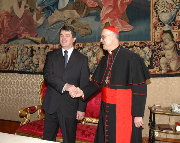 Freemason Secret Handshake Vatican Secretary of State
