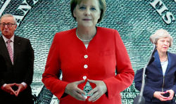Angela Merkel, Junkers, Theresa May, E.U., U.K., Masons, Freemasonry, Freemasons, Masonic Lodge