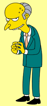 Mr. Burns, The Simpsons