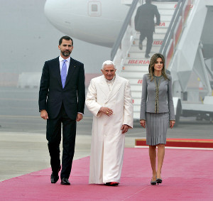 Pope Benedict, Spain, Princess Letizia, Freemasonry, Freemasons, Masonic