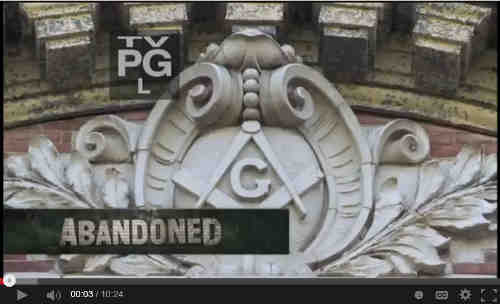 Abandoned NY Masonic Lodge Visiit