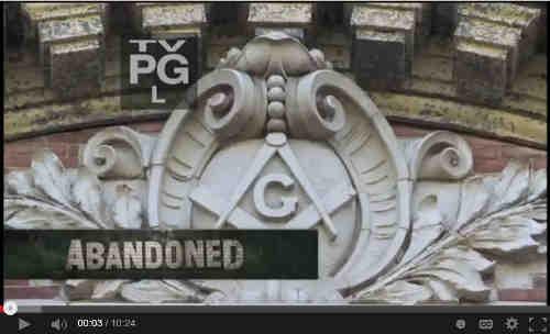 Abandoned NY Masonic Lodge Visiit