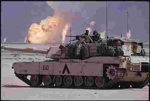Abrams Tank, Military Marking, Gulf War, Freemasons, Freemasonry