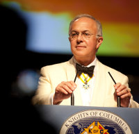 Supreme Knight Carl Anderson, Knights of Columbus, Masonry, Freemasonry, Freemasonry, Masonic Lodge