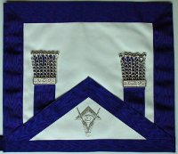 Solomon's Temple, Pillars of Enoch, Masonic Apron Tassles, Freemason, Freemasonry, Freemasons