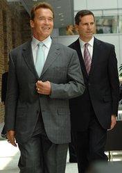 Arnold Schwarzenegger, Dalton McGuinty