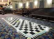Masonic Lodge Floor Border, Masonry, Freemasonry, Freemasonry, Masonic Lodge