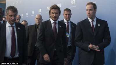 Beckham, Prince William, FA Cup, FIFA, Freemasonry, Freemasons