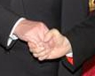 Cardinal Bertone, Catholic Freemasons, Handshake