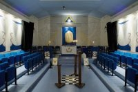 Lodge Room, Temple, Masonic, Freemasons, Freemasonry, Freemason