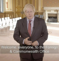 Boris Johnson, Handsigns, freemasonry, masonic, freemasons