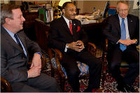 Roland Burris, Harry Reid, Dick Durbin, US Senate, Democratic Leadership, Senators, Masonic, Freemasons, Freemasonry