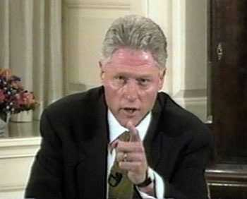 Bill Clinton Demolay lied about Monica Lewinsky