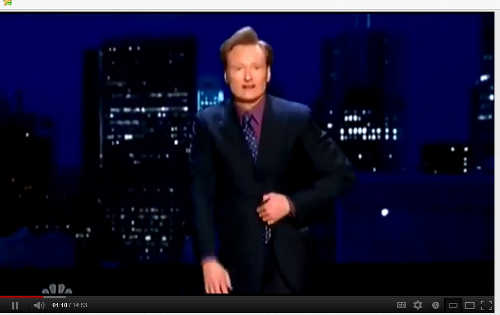 Conan O'Brien Freemason