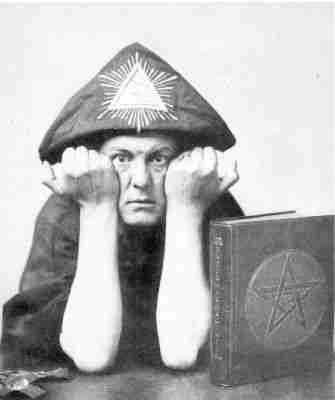 Freemason Aleister Crowley
