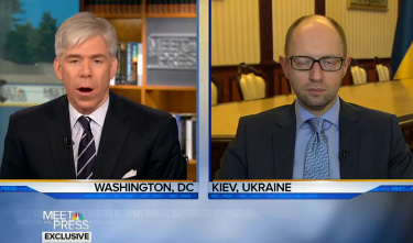Dick Gregory, Meet the Press, NBC, Ukraine, PM