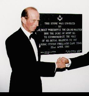 Secret Handshake, Duke of Kent