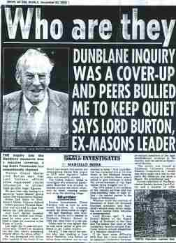 Dunblaine Scotland Child Serial Murders