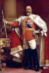 Freemason Edward VII, King of England