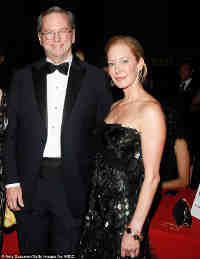 Google CEO Eric Schmidt, His wife Wendy Schmidt