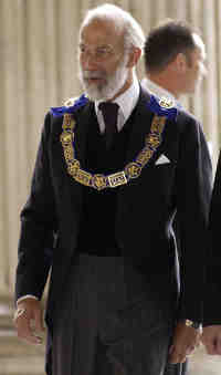 Britain's Prince Michael of Kent, Provincial Grand Master for Middlesex and Grand Master for The Mark Mason