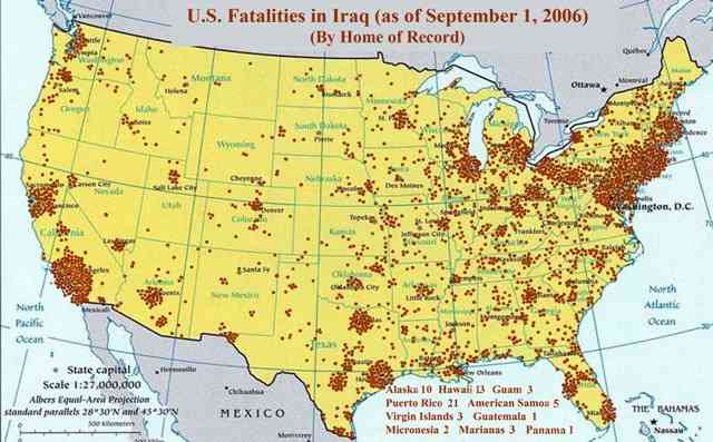 Hidden U.S. Military Losses, Iraq