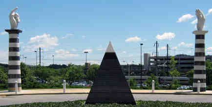 IRS headquarters in New Carrollton, Maryland, Freemasonry, Freemasons, Masonic, New World Order