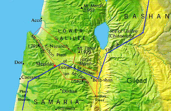 The Valley of Jezreel, Plain of Esdraelon, Galilee, Israel, Palestine, Samaria, Megiddo, Armegeddon, Jesus, Son of Man, Messiah