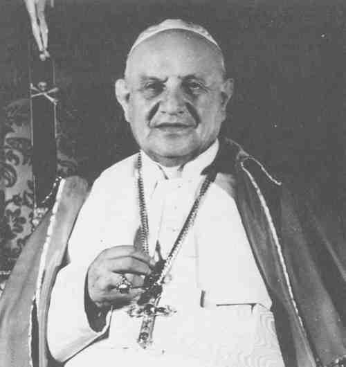 Pope John Xxiiis Pectoral Cross Decorated With Masonic Symbols
