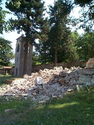 Kosovo Church Destruction