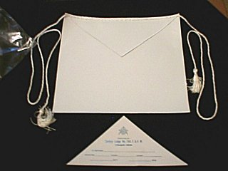 The Masonic Lambskin Apron