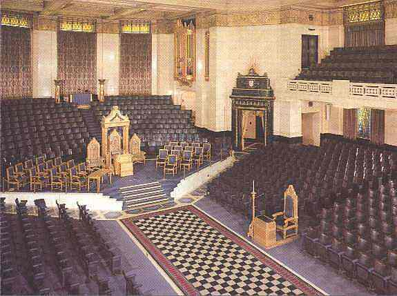 The Grand Temple, Freemasons' Hall, London