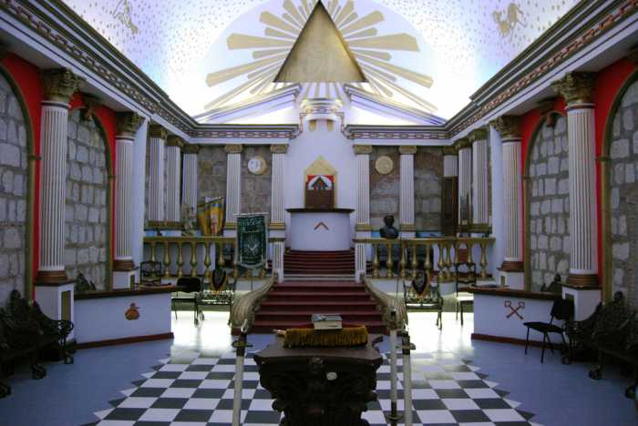 Horus, Masonic Lodge Room