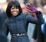 Michelle Obama, Purple Gloves, Inaugural, Freemasonry, Freemasonry, Masonic Lodge