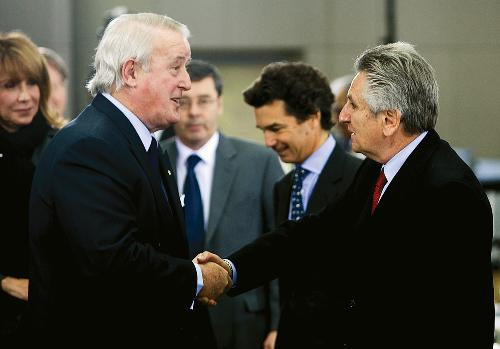 Freemasons Brian Mulroney PC and Richard Wolson QC, Lead Oliphant 'Inquiry' Counsel
