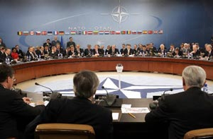 NATO Meeting, Brussels