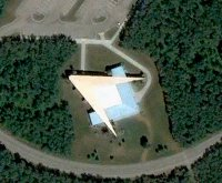 North Dakota-Manitoba International Border 'Peace Garden' Auditorium, Freemason, Freemasonry, Freemasons, Masonic, Signals, Signs