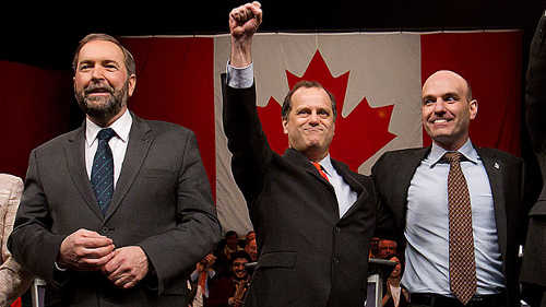 NDP Leadership Contestants - Thomas Mulcair etc.